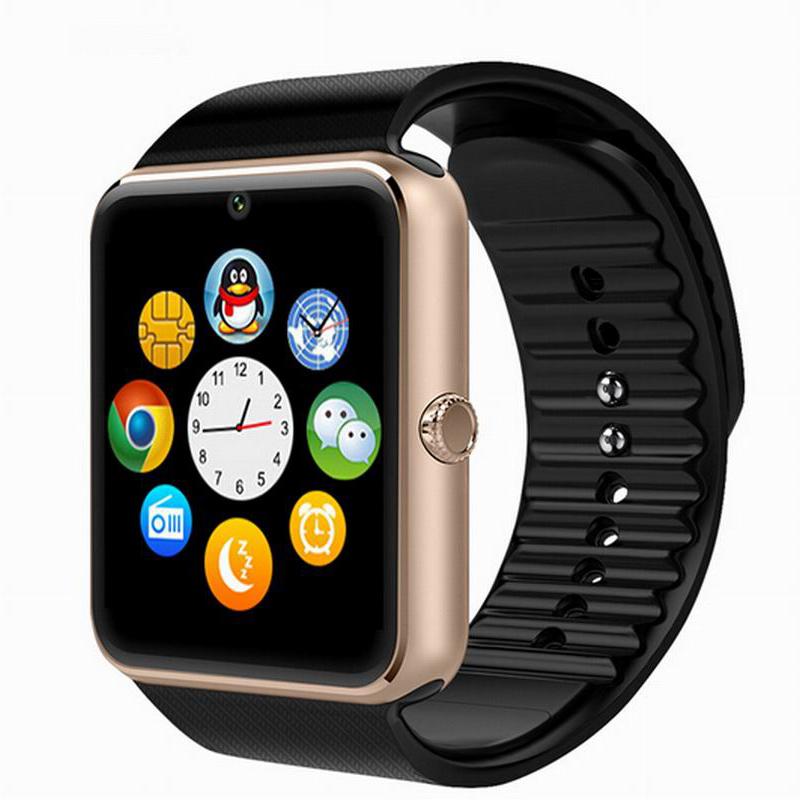 Bluetooth-смарт часы GT08 часы синхронизации Notifier с сим подключения для apple , Android Smartwatch телефон для IOS Android OS