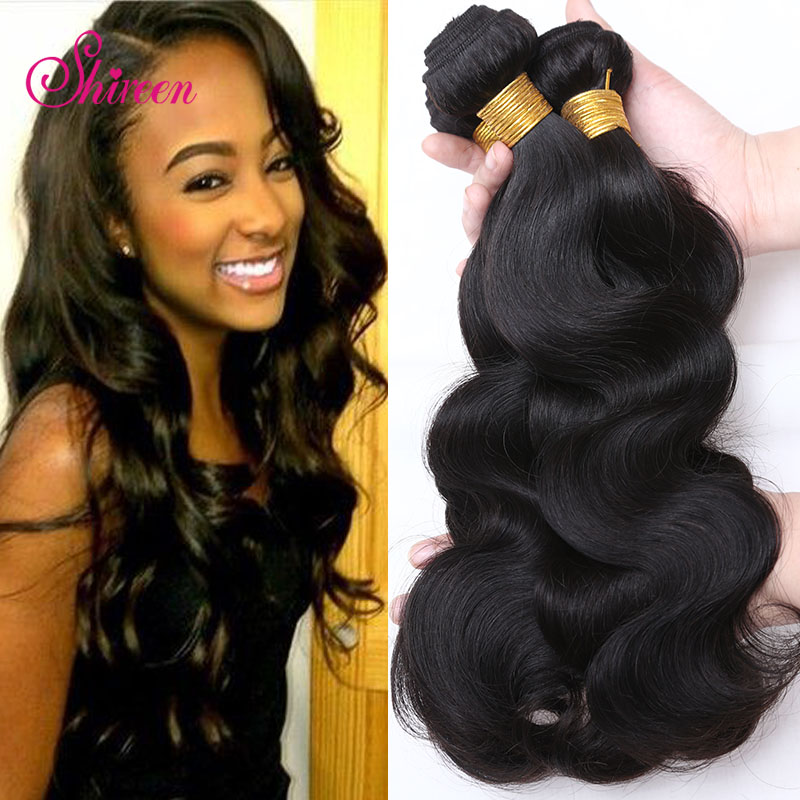 7a unprocessed  Brazilian virgin hair 4 bundles body wave Mink brazilian hair ,100% remy human hair No shedding &amp; No Tangle<br><br>Aliexpress