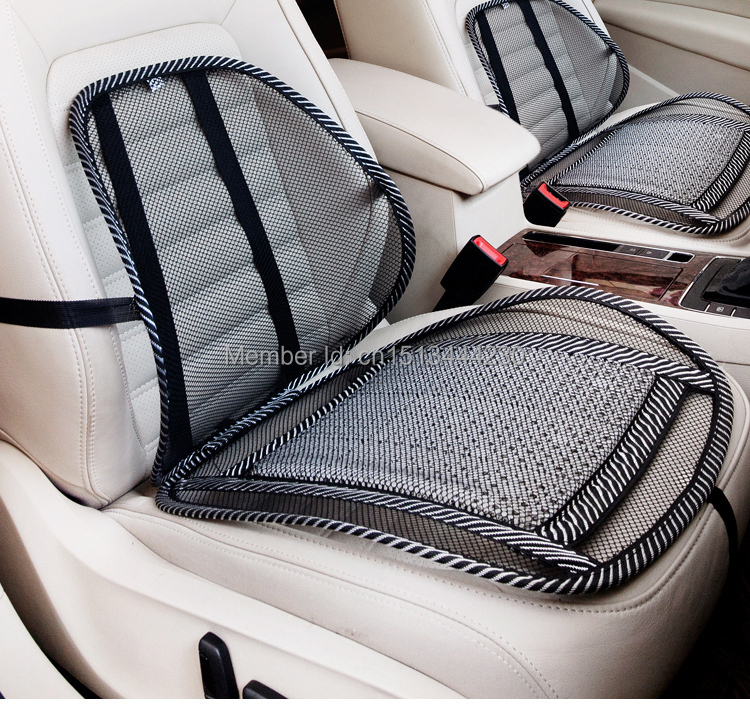 free shipping high quality nylon cool vent massage cushion mesh car seat covers car accessories. Black Bedroom Furniture Sets. Home Design Ideas