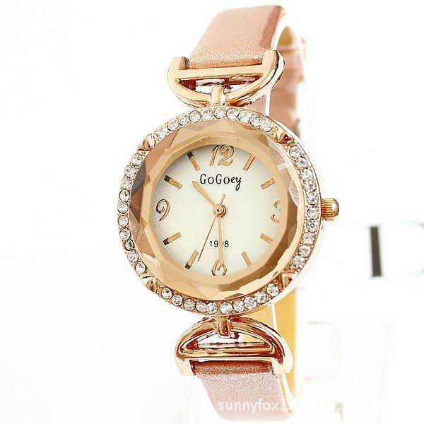 Lady Watches Luxury Brand Female Wristwatch Women Girl Fashion Pu Leather Crystal Diamond Rhinestone Dress Watch Relogio Gift<br><br>Aliexpress