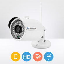 Buy SunEyes SP-V701W 720P HD Mini IP Camera Outdoor Wireless Waterproof ONVIF RTSP Support IR Night Vision Free P2P for $51.43 in AliExpress store