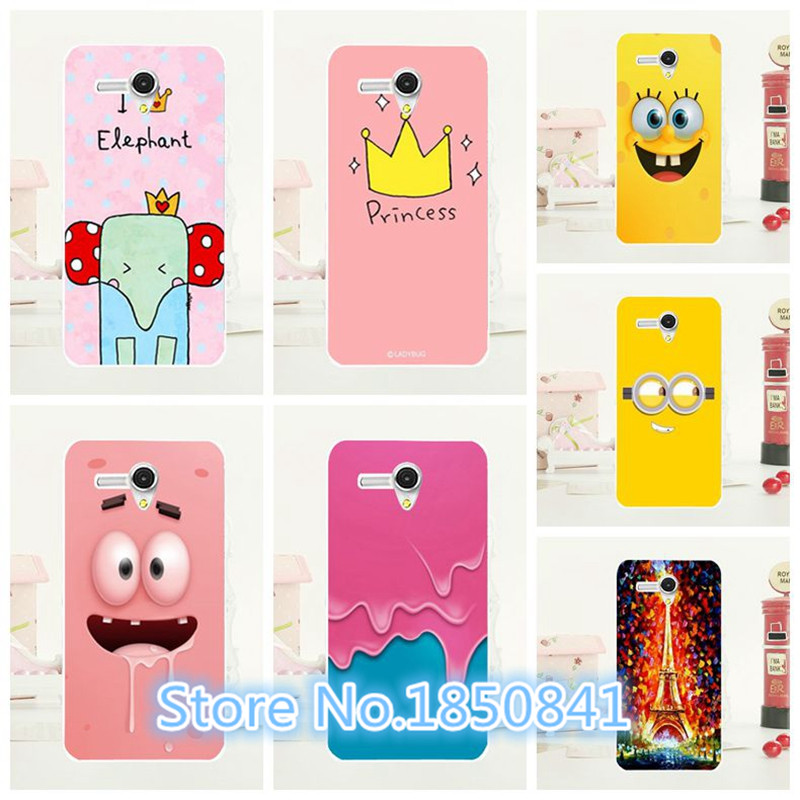 2016 Newest Luxury Soft Silicon Crown Case For Alcatel OneTouch Pop 3 5025 5025D Fancy Colorful Drawing Case For Alcatel 5025(China (Mainland))