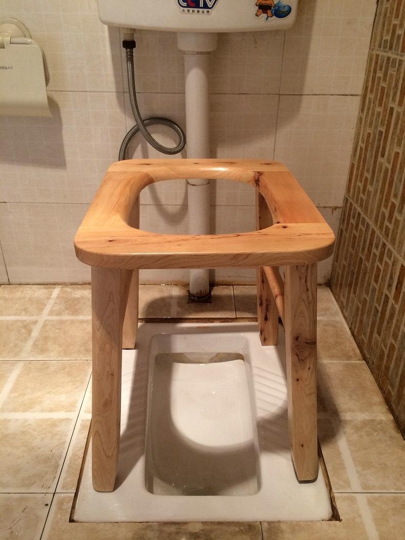 Туалет из старого стула