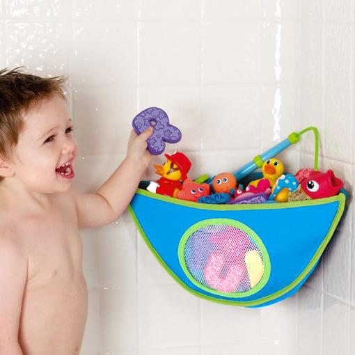 Baby Toys Triangle Bag Waterproof Bath Toys Pouch Bathroom Toy Storage Organizer Bags Kid Storage Appliances Toys Triangle Bag(China (Mainland))