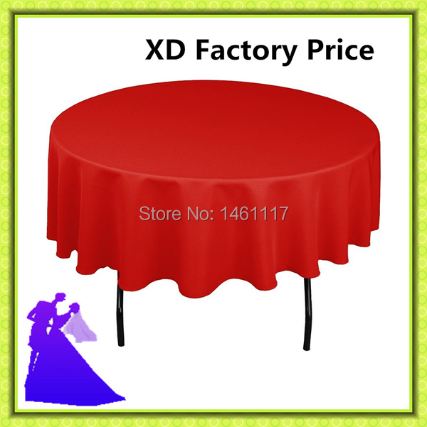 "10pcs ( 70"" )round table cloth with round & table decoration for restaurant table cloth(China (Mainland))"
