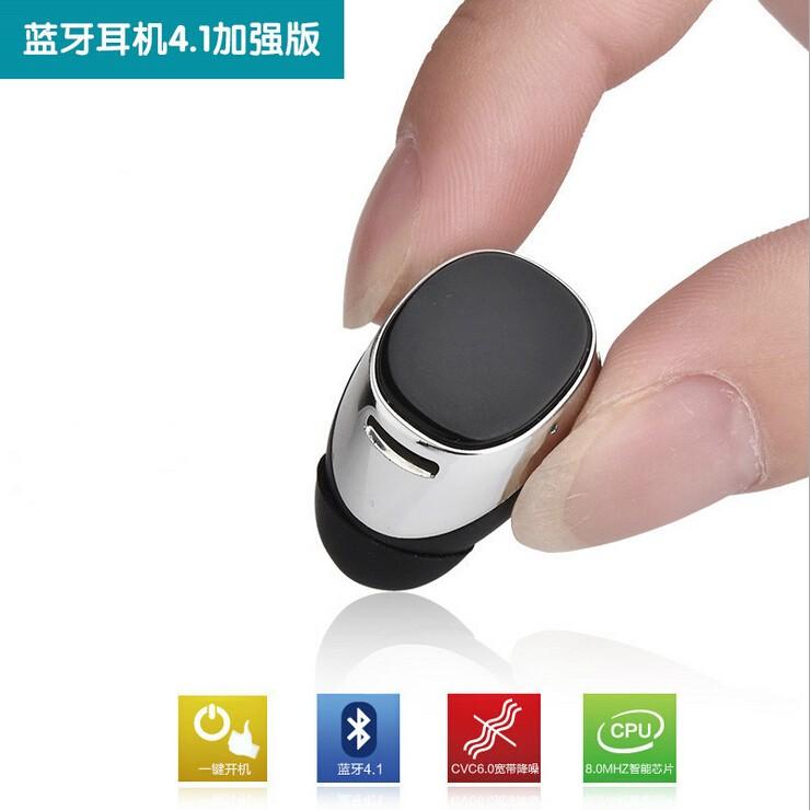 Mini Stereo bluetooth headset V4.1 wireless bluetooth handfree Earphone universal for iphone Samsung mobile phone Headphone