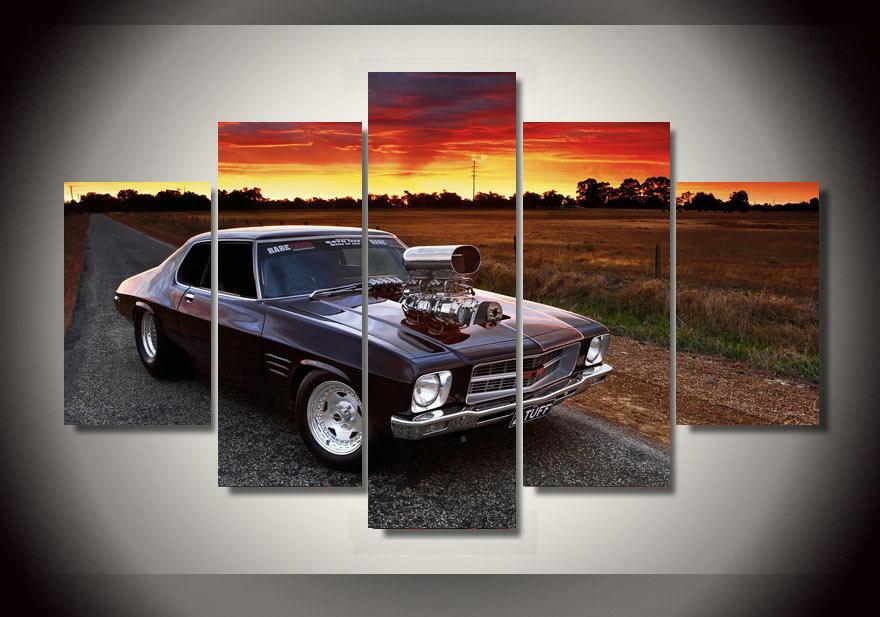 Commentaires affiches muscle car faire des achats en for Image encadree decoration