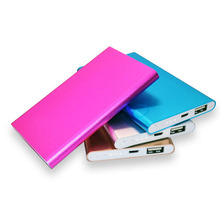 High quality Slim Mobile Power Bank 4000mAh Portable External Battery Charger Powerbank Backup Pack for smart Cellphone