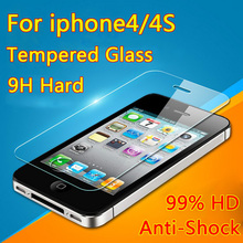 For Apple iPhone4 4S 5 5S SE 5C Premium Tempered Glass Screen Protector Film Explosion-proof 5s on the protective glass