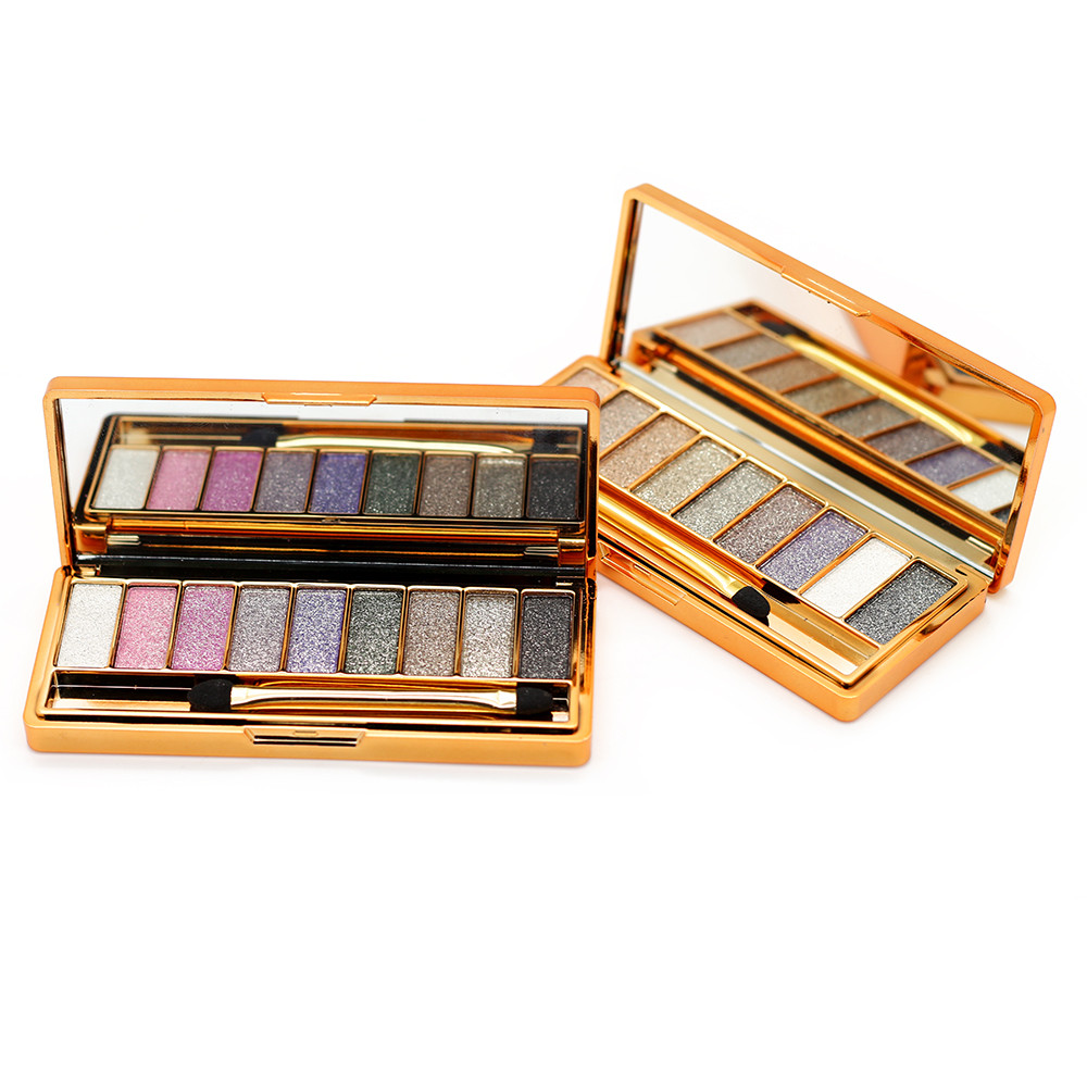 9 colors diamond bright makeup eyeshadow nd smoky palette for Palette 34