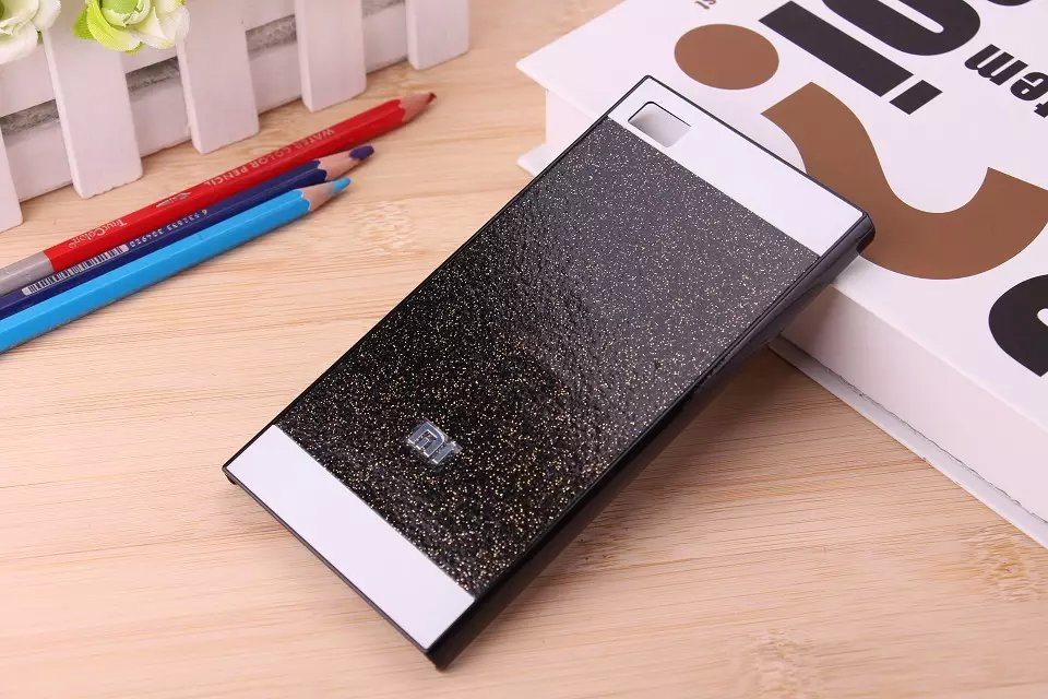 Bling Bling Fashion Shinning Case Glitter Protector Cell Phone Back Cover For Xiaomi Mi3 M3(China (Mainland))