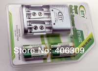 BTY 4*3000mah 1.2V AA Rechargeable Ni-MH Battery +BTY-802 AA /AAA Battery charger Free Shipping