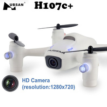 Hubsan H107C+ X4 Cam Plus 2.4G 4CH 6-Axis Gyro Mini Drone RC Headless Quadcopter With Camera w/ 720P RTF VS cx10 cx-10 Mini Dron