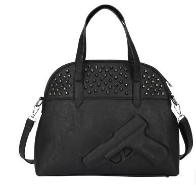 High quality Women hot gun bag 3d bags pistol bags style fashion brand logo handbags(China (Mainland))
