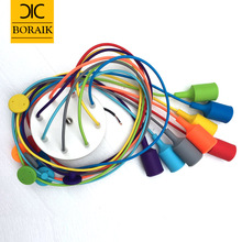 Modern Pendant Lights 13 Colors DIY Lighting Multi-color Silicone E27 Bulb Holder Lamps Home Decoration 4-12 Arms Fabric Cable (China (Mainland))