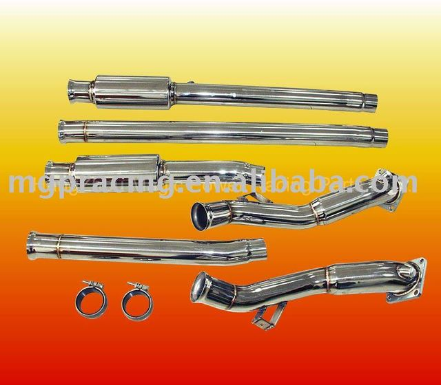 Exhaust system Downpipe for AUDI 2.7L