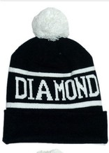 Hip Hop Diamond Caps Beanies for Men or Womens Accessories Knit Cotton Hats for Women New