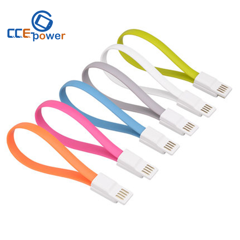 50/lot 22CM Magnet Flat Short 5Pin Micro USB Data Charger Cable Cord For Samsung s6 s5 S4 S3,For HTC LG xiaomi Free Shipping(China (Mainland))