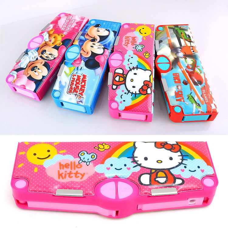 2014 Special Offer Sale Rushed Free Shipping Kt for Cat Mitch Automatic Multi for Creative Pencil Box(China (Mainland))