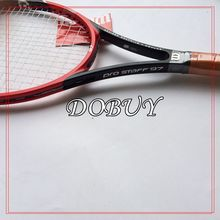 (Super A)2015 High quality New W pro staff 97 100% carbon tennis rackets 41/4,43/8,41/2 Free shipping(China (Mainland))