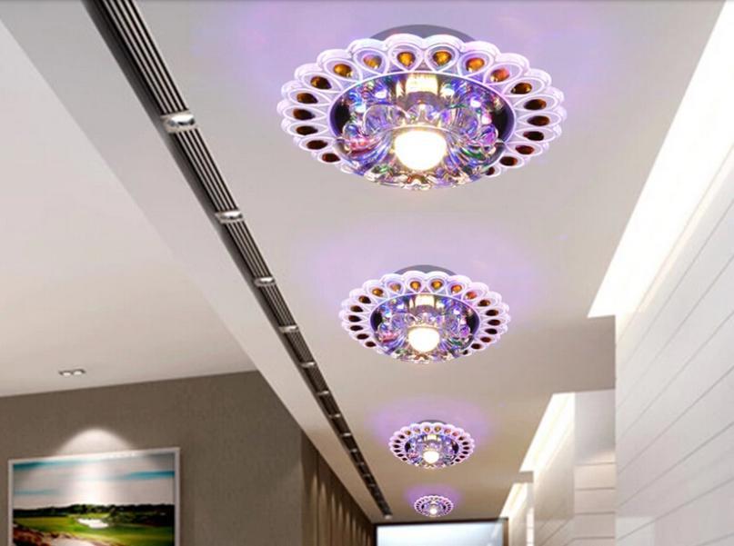 3w modern led ceiling lights for bedroom led living room