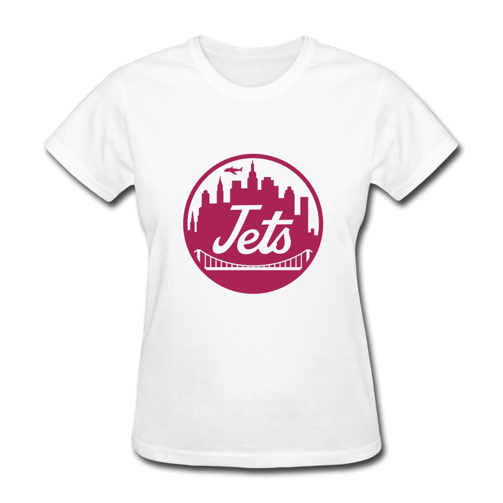 Best sell cotton womens t shirt ny jets mets design t for How to design and sell t shirts