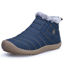 2015 new autumn winter plus velvet male cotton-padded thermal waterproof men snow boots foot wrapping casual canvas shoes boots
