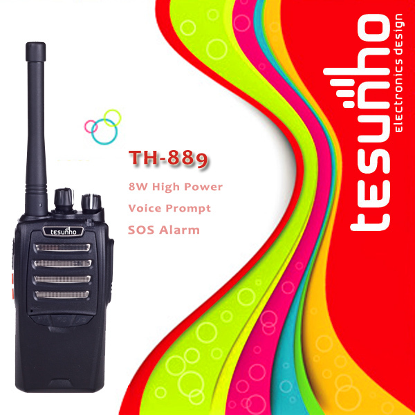 TESUNHO TH-889 professional security hands free vox uhf made in china walkie talkie(China (Mainland))