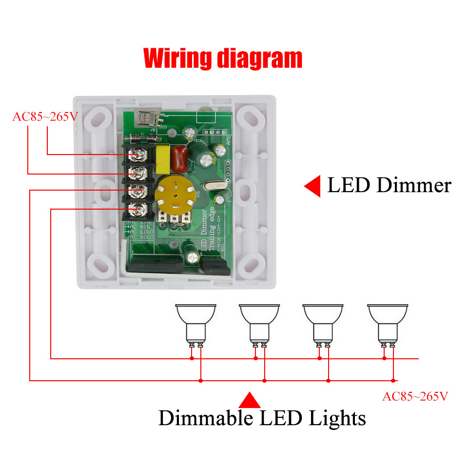 Led Dimmer: Led Dimmer Ir Remote Control