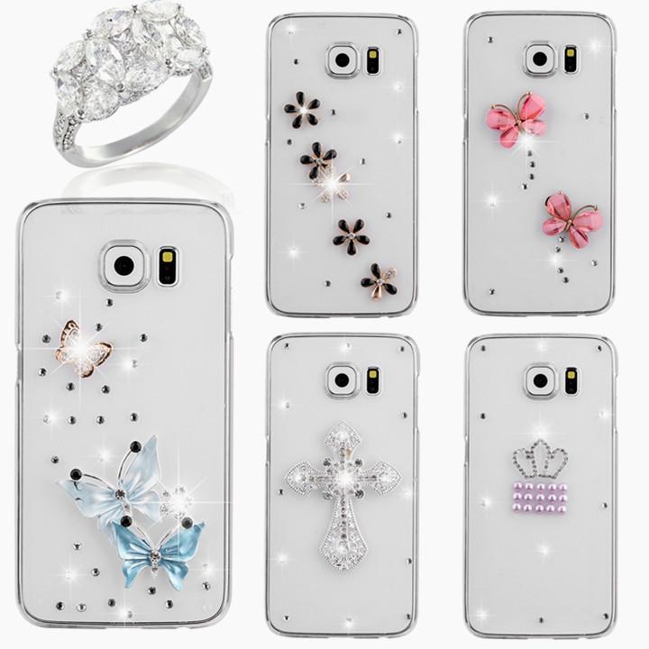 2015 new rhinestone diamond crystal accesories phone case for Housse samsung j3