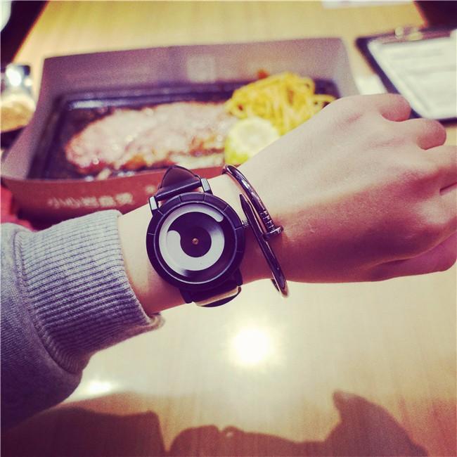Concept Quartz Watches Women 2017 Brand Famous Female Leather Strap Wristwatches Discount Lady Quartz-watch Designer Ceasuri