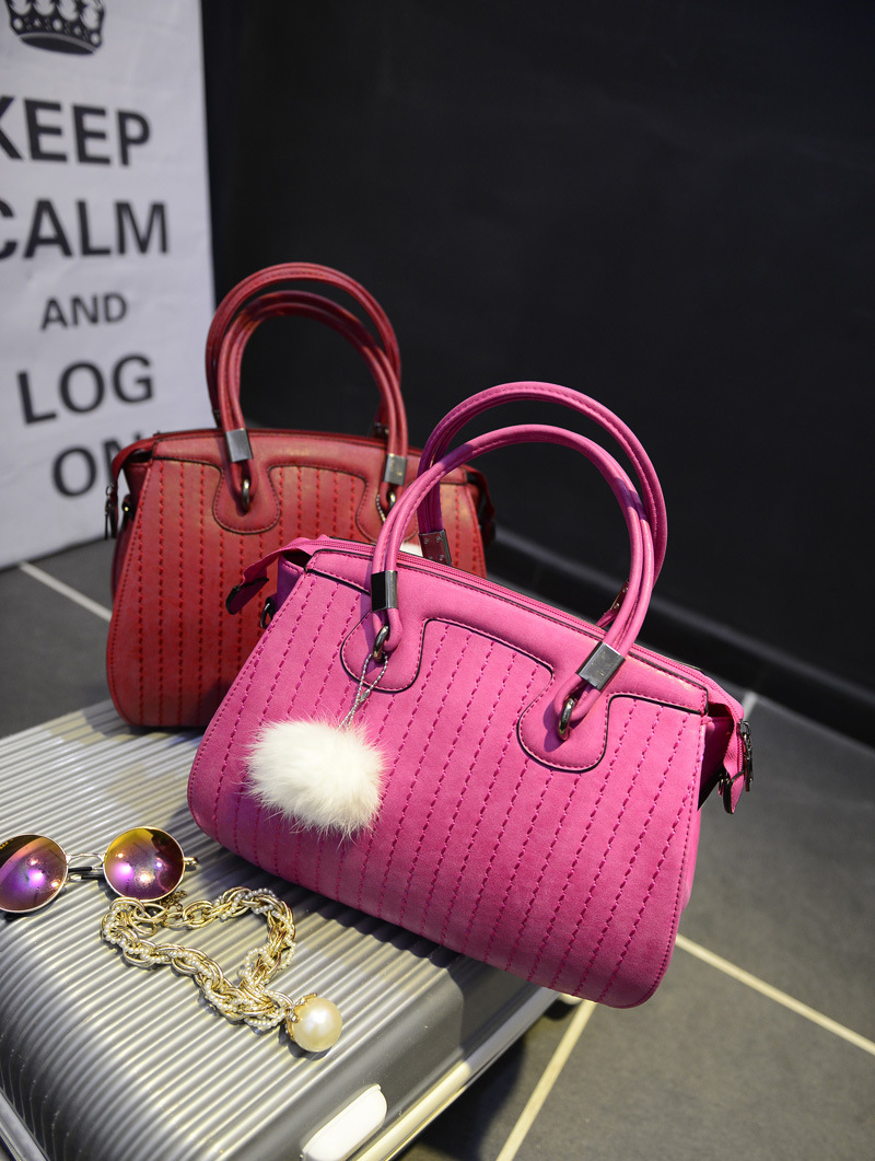 2015 new fashion European and American embroidery bolsas victor hugo handbags woman casual fur celebrity inspired shoulder bag(China (Mainland))