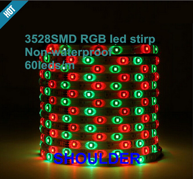 freeship 10M 600Leds Non-waterproof RGBW Led string Light 3528 DC12V 60Leds/M Fiexble Light Led Ribbon Tape led strip kitchen<br><br>Aliexpress