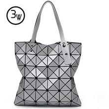 New Fashion 2016 Women's  Bags Hologram Laser Geometric Handbags Women Designer Bags BAOBAO Bag Free Shipping 1pcs/Lot