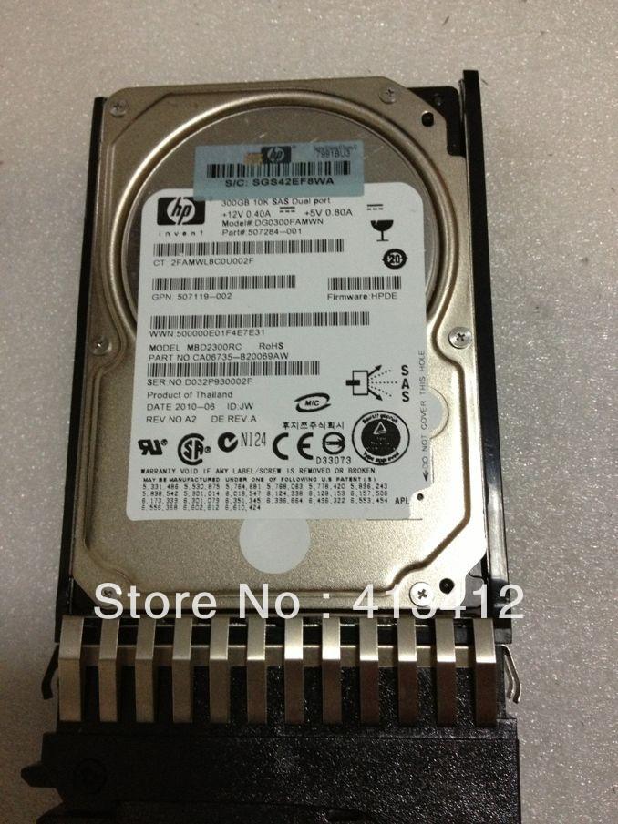 Hard Disk 2.5 inch 300GB 507127-B21 507284-001 10K rpm SFF Dual Port Enterprise SAS HDD 3yr Warranty<br><br>Aliexpress