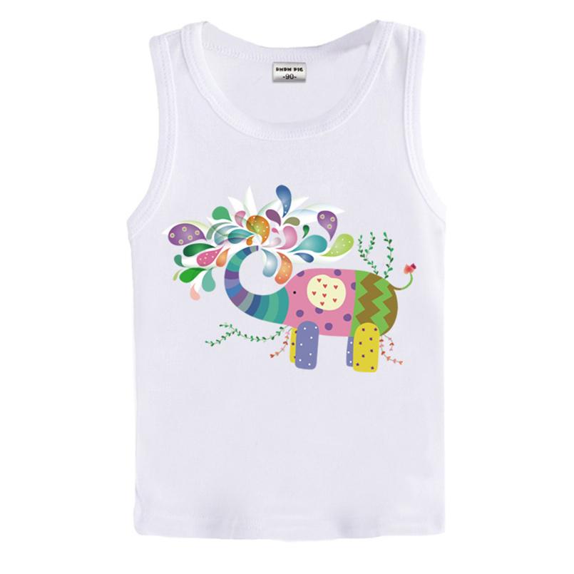 2016 Baby Girls Letter Print T-Shirt Toddler Sleeveless tops Blouse cotton kids t shirt girls clothing(China (Mainland))