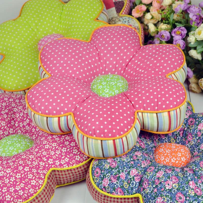 Подушка цветок своими рукам 597