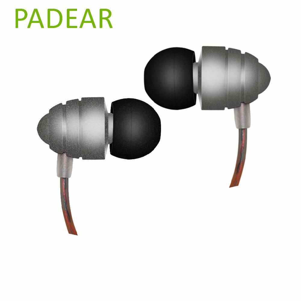 New Padear Earphone Stereo Sluchatka Metal metallica Earbuds Xaomi kulakl k Microphone Noise Cancelling HiFi For beatsstudio(China (Mainland))