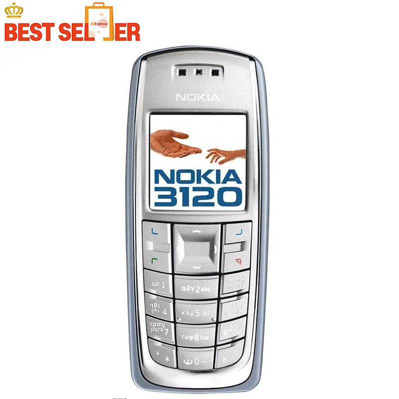 Original Nokia 3120 GSM Cheap Mobile phone multi language Free shipping(China (Mainland))