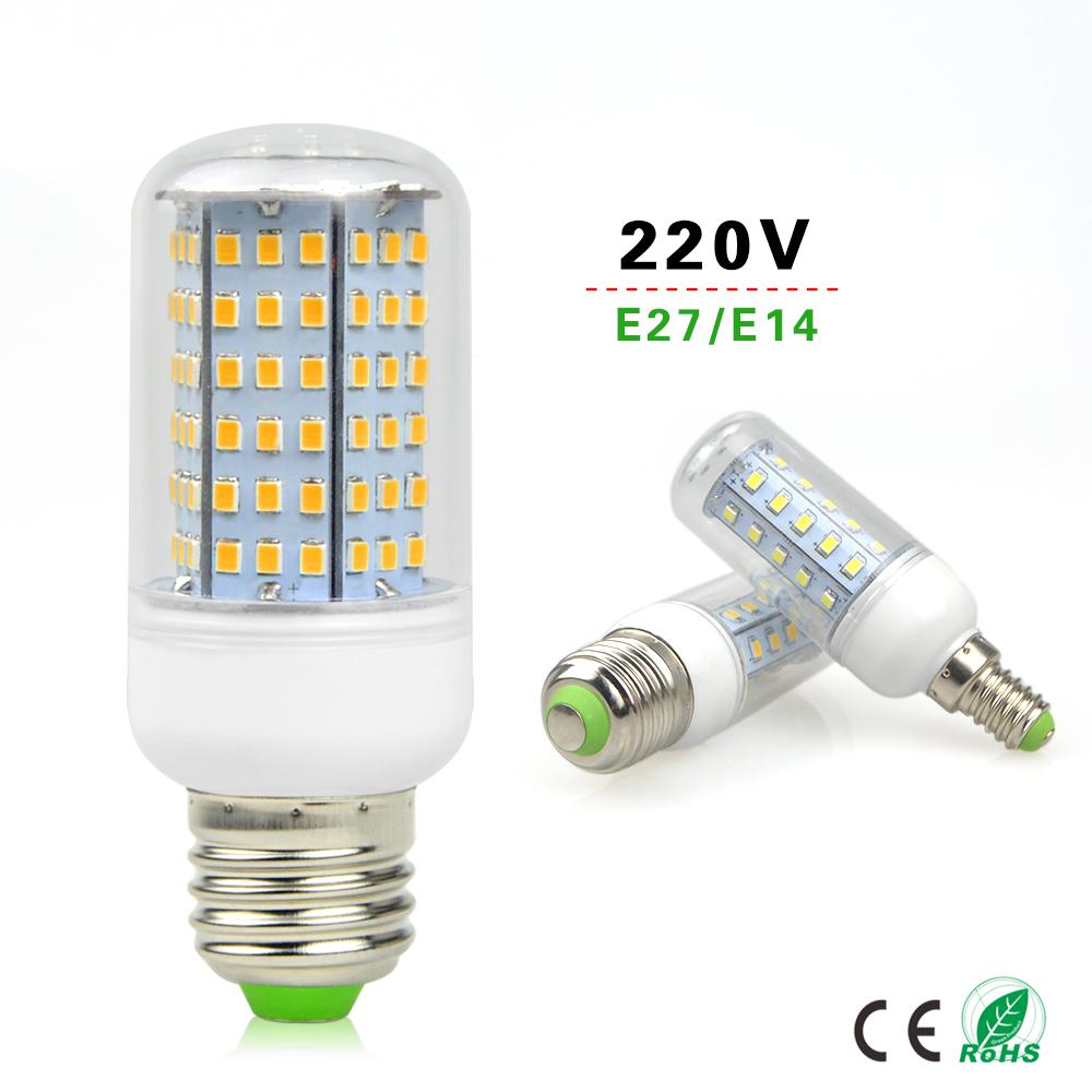 1Pcs E27 E14 220V Energy Saving Corn LED lamp Bulb 30-126 LEDs Replace 7W 12W 15W 20W 25W 30W 35W 40W Campact Incandescent light(China (Mainland))