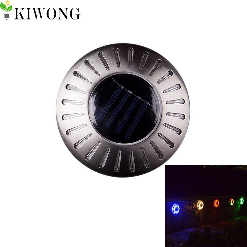 6LEDs Buried solar lights UFO Shape Outdoor Waterproof Garden Pathway Stairs Floor Lamp Light Energy Saving 6 Colors(China (Mainland))