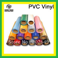 TJ Low price High-Quality PVC korea heat transfer vinyl 17 color one meter hot sales