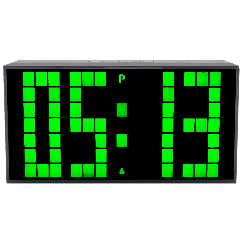 CH KOSDA Modern Calendar Thermometer Snooze Alarm Wall Clock Digital LED Table Clock Large Display Big Number Night Light Clocks(China (Mainland))
