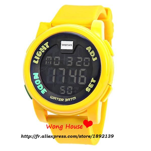 2016 Sale Special Offer Alloy Plastic Paper Men Watches Shhors 30m Band Waterproof Quartz Sports Watch Wristwatch Timepiece 801(China (Mainland))