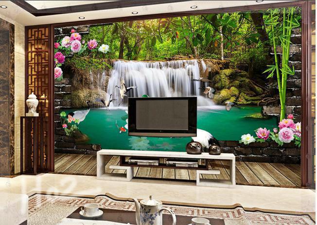achetez en gros mur de briques cascade en ligne des. Black Bedroom Furniture Sets. Home Design Ideas