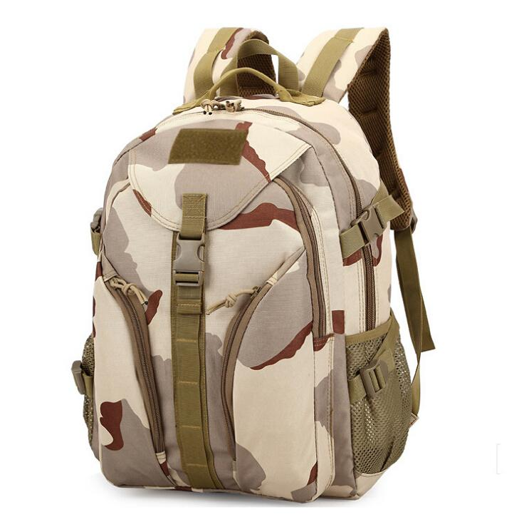 Men Waterproof&amp;Breathable Camouflage Tactical Travel backpack Hiking Climbing Camping backpack Outdoor Sport bag 3801<br><br>Aliexpress