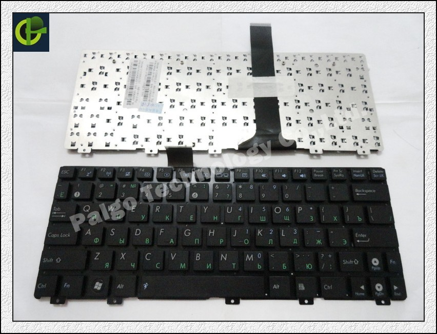Original Russian letter Keyboard for ASUS Eee PC 1025C 1025CE X101 X101H X101CH Black RU laptop keyboard(China (Mainland))