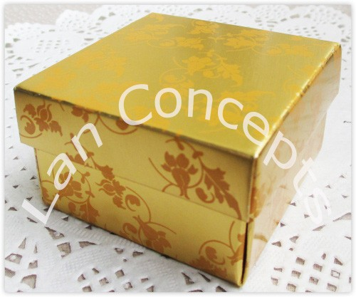 LWB0195C favors box candy box gold with printed4