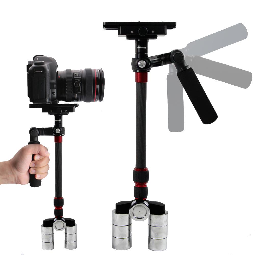 Free shipping by DHL 1-3KG A-68C Carbon Fiber DSLR Video Camera Stabilizer A68C for DSLR camera DV camcorder Steadycam Steadicam