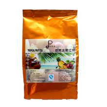 Taiwan's imports of tropical fruits black tea has a unique taste real fruit grain stores dedicated